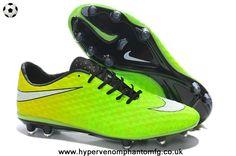 Phantom FG (Neymar - Volt/White/Black) Nike Hypervenom