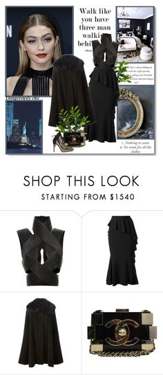 """""""Walk like you have three man walking behing you!!"""" by lilly-2711 ❤ liked on Polyvore featuring Dion Lee, Givenchy, Dolce&Gabbana, Chanel, Gianvito Rossi, women's clothing, women's fashion, women, female and woman"""