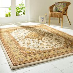 Ottoman Temple Cream Rug from Sizes range from x to x Available as Rectangle and Runner. Traditional Rugs, Traditional Design, Carpet Sale, Hallway Carpet Runners, Rug Company, Indian Rugs, Patterned Carpet
