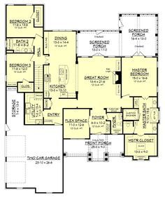 cottage house plan chp-26434 at coolhouseplans plan id: chp