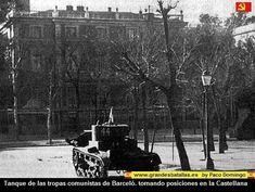 Spain - 1936-39. - GC - Madrid - soviet T26 - CASADISTA EN LA CASTELLANA