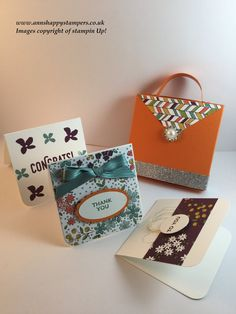 GOODBYE SALE-A-BRATION SUNDAY :-( Matchbox bag for 3, 3x3 cards & envelopes :-) - YouTube
