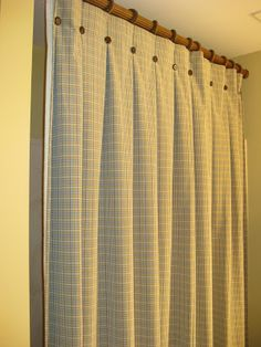 Attractive A Beautiful Room: Custom Draperies U0026 Pillows Box Pleated Shower Curtain! |  Baths | Pinterest | Pillows, Window And Curtain Headings