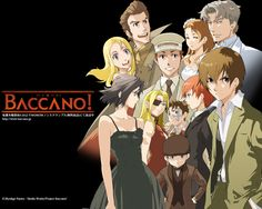 Day 27: RECOMEND AN ANIME THAT MOST PEOPLE MAY NOT HAVE SEEN- Baccano! does NOT get the attention it deserves for all its amazingness. Im sure everyone can at least find one thing about it to keep them watching if they are willing to use their brains and pay attention to the FANTASTIC stories it has to tell