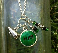 CUSTOM High School Cheerleading/Drill/Dance/Sports Charm Necklace on Etsy, $15.00