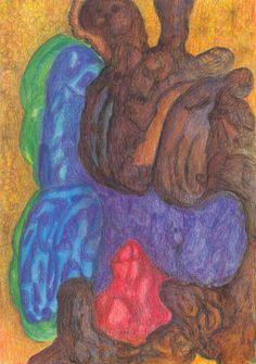 Original Nature Drawing by Color Calor Watercolor Drawing, Watercolor Pencils, Nature Drawing, Animation, Figurative Art, Pencil Drawings, Buy Art, Paper Art, Saatchi Art