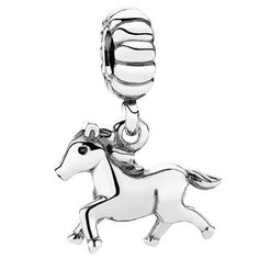 342073-PANDORA Free Spirit/Horse Dangle