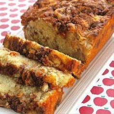 Apple Cinnamon White Cake    #apple #cinnamon #cake #applecinnamon #bread #brunch