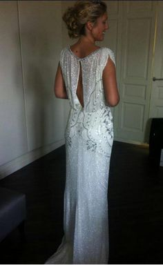 Stunning Jenny Packham ESME Dress Size 12 for sale