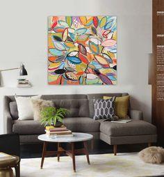 Barato Folhas pintura a óleo abstrata moderna pintados à mão arte da colagem pop art sala de escritório, Compro Qualidade Pintura & caligrafia diretamente de fornecedores da China:                  Descrição do produto           1.   As imagens mostradas não são o artigo real e são apenas