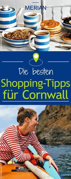 Neben zauberhaften Landstrichen und atemberaubenden Küstenregionen gibt es in Cornwall auch tolle Shopping-Möglichkeiten. Unsere Tipps helfen euch bei der Planung eurer Shopping-Tour durch Cornwall!