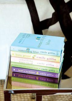 Emily Giffin Books!