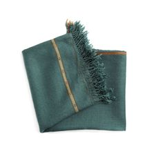 Turquoise-Green Throw - Pakistan $100 | Far & Wide Collective