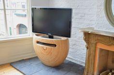 Modular birch wood TV stand, I like you very much.