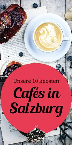 In diesen Kaffeehäuser in Salzburg bekommst du besonderen Kaffee-Genuss. Chasing Life, Salzburg Austria, Cool Cafe, Best Coffee, Ticket, Travel Guide, Wanderlust, Restaurant, Places