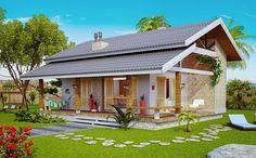 Conheça este lindo projeto de casa pronto para construir. Modelo Loft de Praia ou Campo. Veja dezenas de novos projetos de casas e sobrados prontos.