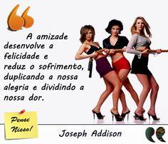 Frase de amigas - Joseph Addison