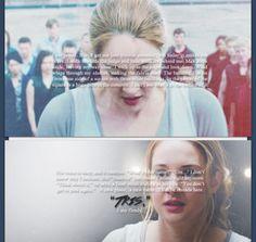 #awaywithedgar Tris and Tobias