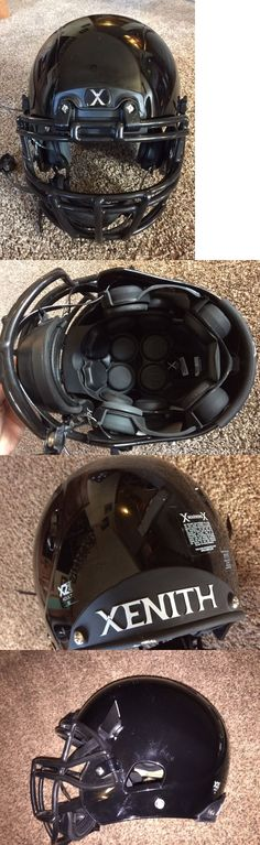 Helmets and Hats 21222: Xenith Varsity X2e Football Helmet Gloss Black Adult Medium - Never Used -> BUY IT NOW ONLY: $219 on eBay!