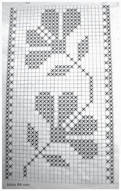 Best 12 Romantic white filet crochet table doily or runner, rustic or cottage chic style, afternoontea wedding decor, garden tea party Wedding Cross Stitch Patterns, Cross Stitch Borders, Cross Stitch Flowers, Counted Cross Stitch Patterns, Cross Stitch Designs, Cross Stitching, Cross Stitch Embroidery, Embroidery Patterns, Crochet Patterns