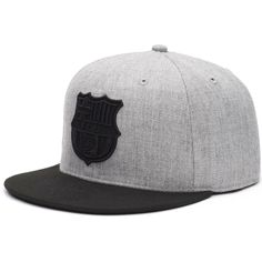 b86e4316 Barcelona The Breaker Adjustable Snapback Hat - Gray/Black, Your Price:  $31.99