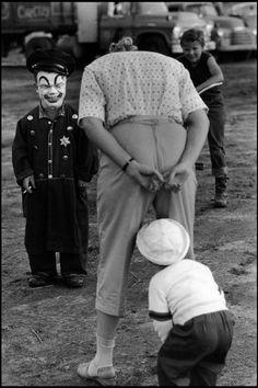 By Bruce Davidson, New Jersey c. Beatty-Cole-Hamid Circus at Palisades Amusement Park.