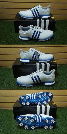 Altri Indumenti Da Golf 158939: Nuove Adidas Tour 360 M1 Scarpe Da Golf Bianca