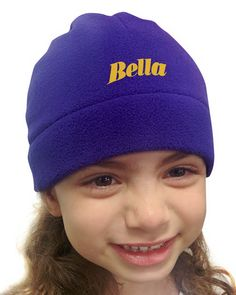 Our classic fleece kids beanie is snuggly. It will keep your head warm whether it is school, park or home. Our kids fleece beanies fits ages 2 to 7 yrs. Add your printed, embroidered or laser-etched design to personalize this plush beanie. Our North American-made fleece is available in 20 vibrant colors for every kid and every occasion.