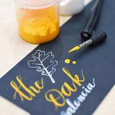Fabricando nuestras propias tintas opacas de caligrafía 🖋🖌 #lettering #caligrafia #caligraphy #tinta #ink #encre
