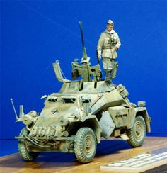 Tamiya 1/35 scale Afrika Korps SdKfz 222 Armored Car, Armored Vehicles, Mg 34, North African Campaign, Hobby Tools, Afrika Korps, Diorama Ideas, Military Modelling, Panzer