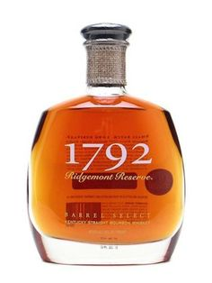 1792 Ridgemont Reserve (Barton 1792 Distillery; Bardstown Ky., $28) Identified by the unique scrap of burlap around the bottle's neck, this eight-year-old bourbon is the official toasting bourbon of the Kentucky Bourbon Festival.  This is a complex bourbon, with expected rye spiciness and notes of apple and cinnamon on the palate, but with a short and sharp finish. The brand is aged in a warehouse high on a limestone bluff taking in the perfect amount of summer sun and winter winds.