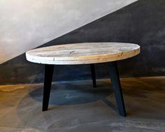Sofabord i Genbrug Rundt_1