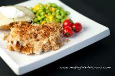 Chicken crunch:  http://hammonscookbook.blogspot.com/2013/07/chicken-crunch.html