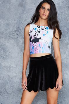 Out Of Gravity Wifey Top - 48HR ($60AUD) by BlackMilk Clothing