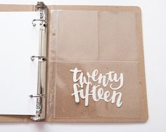 Twenty Fifteen Cut File by paislee press