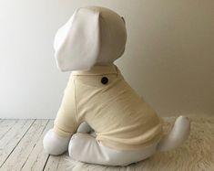 dog clothes, Dog sweater, puppy clothes, puppy shirt, dog shirt, Dog dress, shawl collar sweater, Max