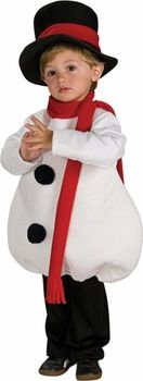 Buy a Toddler Cute Snowman Costume for $29.99