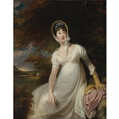 Attributed to George Clint, Portrait of a young woman