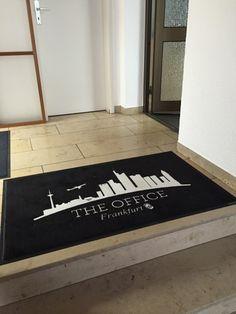 Fußmatte: Office Frankfurt :)
