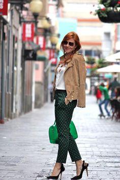 So cute by Guccisima: Con un toque verde!