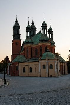 Cathedral Basilica in Poznan, Poland