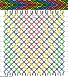 24 strings 24 rows 7 colors