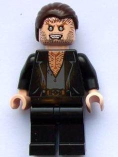 LEGO Harry Potter: Fenrir Greyback Minifigure: Amazon.co.uk: Toys & Games