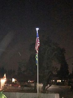 Titan Flag Pole by the Flagpole Farm. Great American product, great quality.