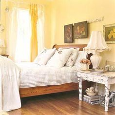 """From Country Living....love this. This is how we live and it is so comfortable. Love the """"not fussy-ness"""" of it!"""
