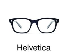 TYPE Eyewear Brand Makes Glasses Inspired by Typefaces. Interesting