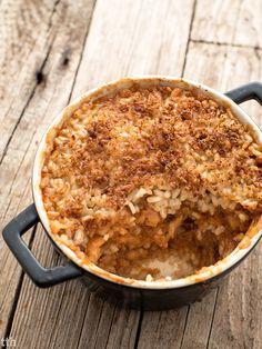 true taste hunters - kuchnia wegańska: Ryż zapiekany z jabłkami (wegański, bezglutenowy, bez cukru)
