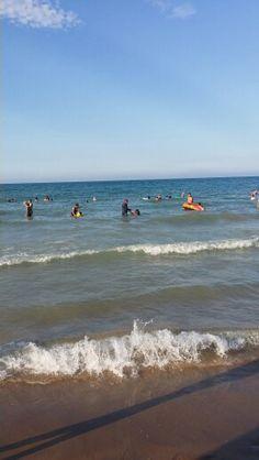 The beach in la marsa <3
