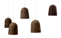 Decafé - lamps made from coffee  KOJI S #bio degradeable