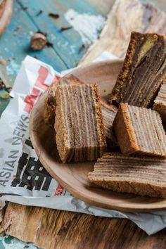 Little party with spekkoek (lapis legit or layered cake) | Simone's Kitchen
